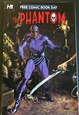THE PHANTOM. FREE COMIC BOOK DAY ISSUE. FRANK BOLLE-COVER. 2015 FIRST PRINTING.