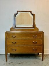 More details for a rare & beautiful 110 year old edwardian antique mahogany dressing table. c1905