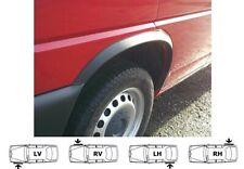 VW T4 GP Multivan Bus lange Front Radlaufzierleisten SCHWARZ 4 Stück 95-03 SaLe!