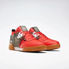 Reebok Mens Workout Plus ATI Training Shoes EH0134 Black / Red Multi Sizes NWB