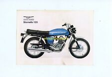 MOTO GUZZI Stornello 125 1970 depliant originale genuine motorcycle brochure