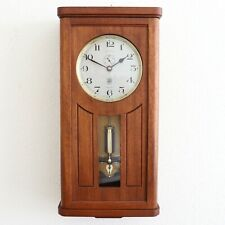 ATO Wall TOP! Clock STRIKING Feature! Antique VERY RARE Electric CHIME Restored,