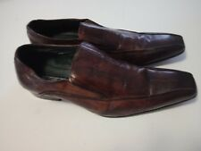 STACY ADAMS Mens Brown Leahter Dress Shoes Size 11 UK 11 EE S1