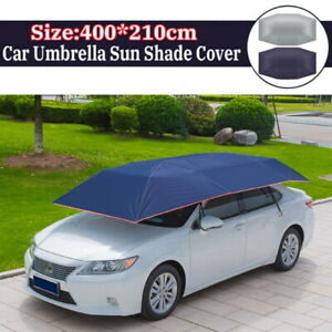 Automatic Carport Anti-UV Heat Insulation Car Umbrella Roof Tent Cover tp