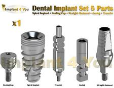 X1 Dental Implant Set 5 Parts All In One (Read Description)