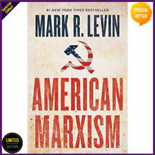 American Marxism Hardcover by Mark R. Levin–July 13, 2021 USA FREE SHIPPING