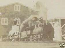 ANTIQUE AMERICAN TOY TRAIN CARNIVAL ? CIRCUS ? MINIATURE STEAM CABOOSE WOW PHOTO