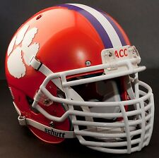 "CLEMSON TIGERS Football Helmet FRONT TEAM NAMEPLATE Decal/Sticker ""ACC"""