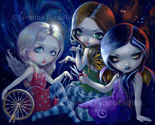 Jasmine Becket-Griffith art print SIGNED The Three Fates time goddess greek goth