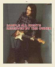 RORY GALLAGHER  PHOTO STUDIO SESSION and candid  set of 2 5 x 7 and 5 by 6 color