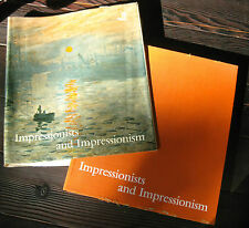 Impressionists and Impressionism 1976 Book by Maria & Godfrey Blunden-HC DJ~Bk13