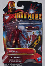 MARVEL IRON MAN 2 MOVIE SERIES. MINI NO. 10 . IRON MAN MARK VI. NEW ON CARD