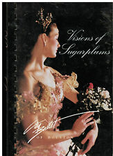 *CITY BALLET OF *HOUSTON TX 1990 VINTAGE *VISIONS OF SUGARPLUMS COOK BOOK *TEXAS