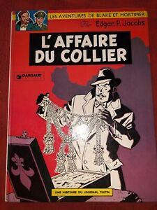 Blake & Mortimer -  L'affaire du collier - Réédition