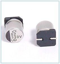 (10PCS) 330UF 35V NICHICON SMD ALUMINUM CAPACITORS.10X10MM UD 35v330uf
