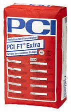 PCI FT Extra 25 kg Flexibilised Tile adhesive for Tiles Underfloor heating