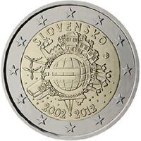2 Euro monete commemorative 2005 - 2012 - UNC, FDC