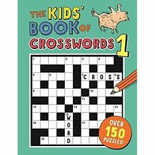 The Kids' Book of Crosswords 1 by Moore, Gareth | Paperback Book | 9781780554419