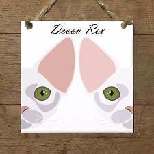 DEVON REX gatto piastrella targa ceramica cat
