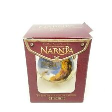 The Chronicles of Narnia Holiday Ornament Lion Witch Wardrobe Disney Aslan Xmas
