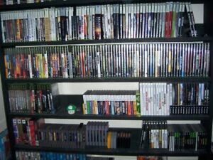 VIDEO GAME LOT OF 66 XBOX ONE PLAYSTATION 2 3 4 NINTENDO WII U RARE COLLECTION
