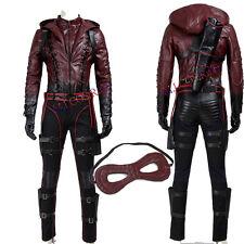 Popular Green Arrow Roy Harper Red Battleframe Cosplay Costume Custom Made Suit