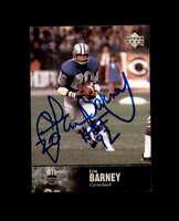 Lem Barney Hand Signed 1997 Upper Deck Legends Detroit Lions Autograph