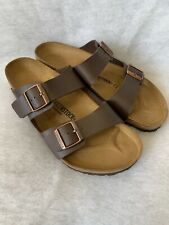 Mens Birkenstock Sandals Arizona Dark Brown Size 46 Regular Fit