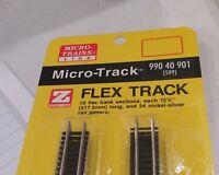 Micro-Trains MTL Z 99040901 12.5in 317mm Flex Flexible Track 10 Pieces *NEW #599