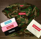 SUPREME Pocket Tee camouflage pattern pocket T-shirt S-XL Green/Black New