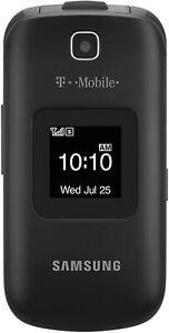 Vintage Samsung SGH T159 - Black (T-Mobile) Cellular flip Phone kit,Rare