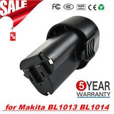 10.8V 1.5Ah Li-ion Replace Battery for Makita BL1013 BL1014 194550-6 194551-4 EG