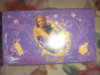 2 x SABRINA THE TEENAGE WITCH Mystical Trading Cards 1 Full Box Dart Boxes