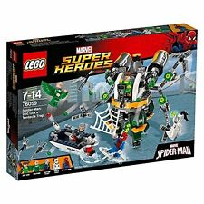 NEW LEGO MARVEL SUPER HEROES SPIDER-MAN: DOC OCK'S TENTACLE TRAP 76059