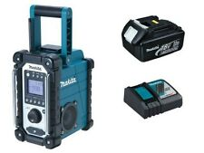 MAKITA Baustellenradio DMR107 inkl. 1 x Akku 18 V 3 AH und 1 x Ladegerät DC18RC