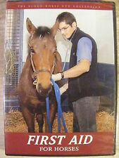 First Aid For Horses (DVD, 2008) Blood Horse Productions BRAND NEW!
