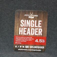 Pitchfork Single Header Pump Clip Front