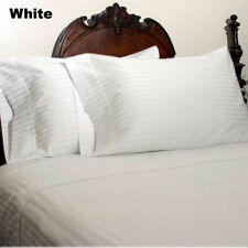US Cal-King Size Bedding Items 1000 TC Best Egyptian Cotton Solid/Stripe Colors