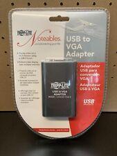 New and Sealed - Tripp Lite USB to VGA Adapter Model U244-001-VGA-R