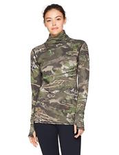 Under Armour Women's XL Mid Season Wool Crew Shirt Ridge Reaper Camo 1297808 943