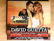 CD + DVD RARE / DAVID GUETTA / F*** ME I'M FAMOUS ! / NEUF SOUS CELLO