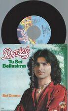 """7""""   Daniele – Tu Sei Belissima //PROMO BACKCOVER"""