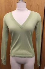 Wolford Silk Wool Cashmere Blend Pullover Size Small Color Light Green 00009-22