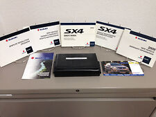 2009 Suzuki SX4 OEM Owner's Manual w/ Supplements & Case - Free Shipping