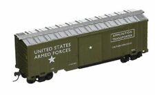 HO Scale US Army Ammo Transport Box Car 98665 Model Power