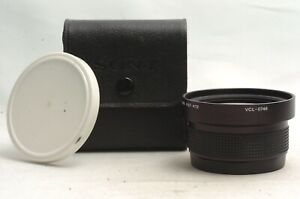@ Ship in 24 Hours! @ Near Mint! @ Sony VCL-0746 Wide Conversion Lens X0.7