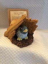 Franklin Mint Jacqueline Smith Woodland Surprises The Bluebird Porcelain Figure