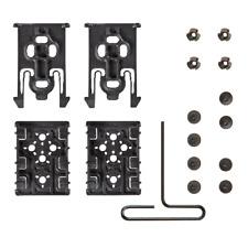 Safariland ELS-KIT1-2 Black Equipment Locking Kits 2 Forks & 2 Receivers