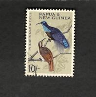 1964 Papua & New Guinea SCOTT #198 BIRDS Θ used stamp
