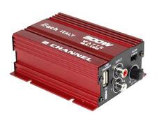Amplificatore audio 12v usb mp3 cd casa auto barca 2 canali stereo 500w ma-150